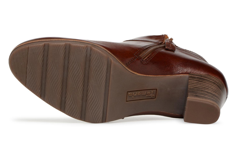 Boots en enkellaarsjes Tamaris KATTY Bruin boven