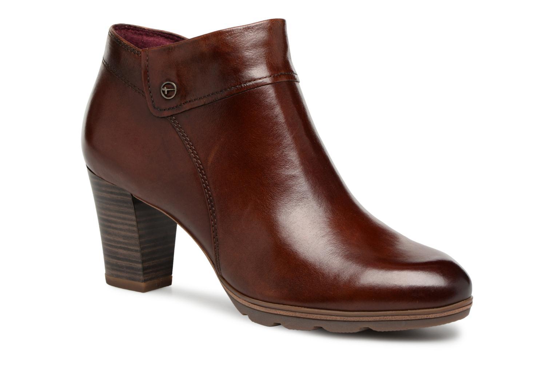 Boots en enkellaarsjes Tamaris KATTY Bruin detail