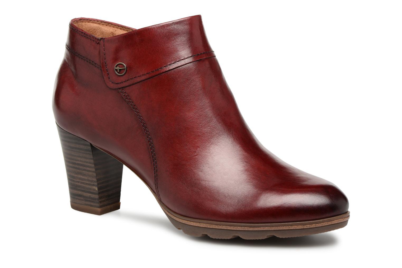 modelo más vendido de la - marca Tamaris KATTY (Rojo) - la Botines  en Más cómodo 047c5e