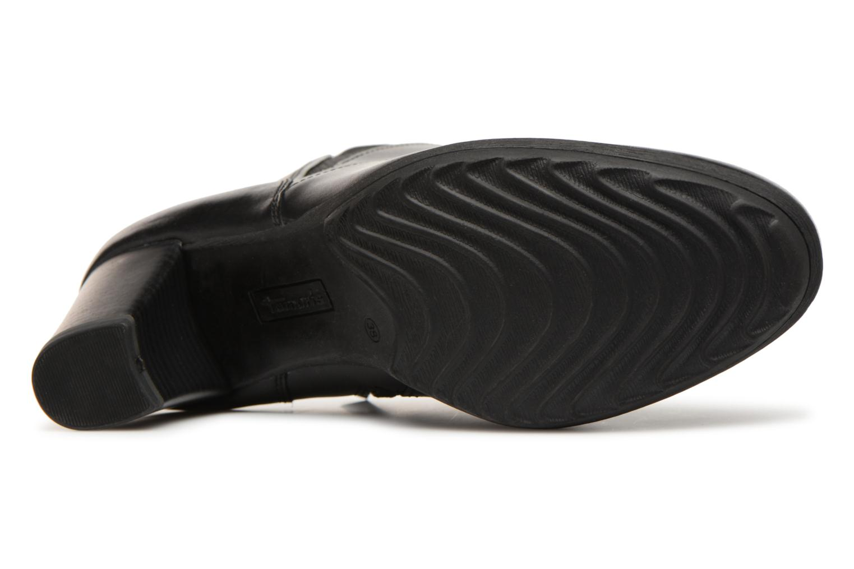 Bottines et boots Tamaris LAPA Noir vue haut