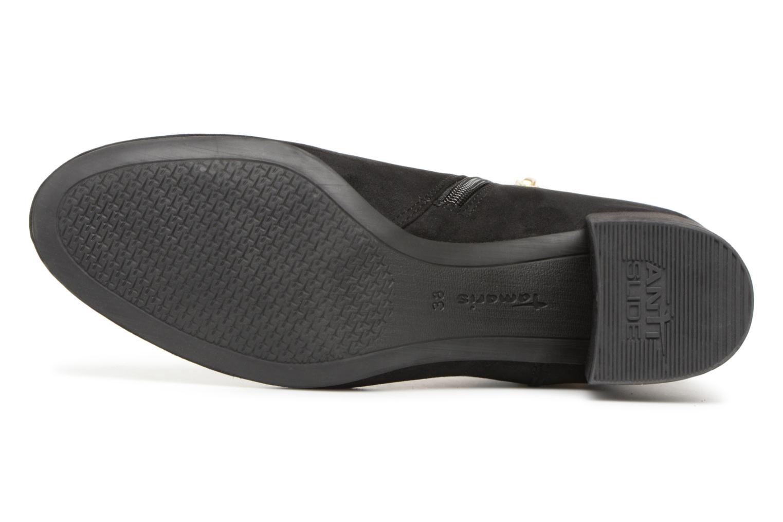 Bottines et boots Tamaris BAHIA Noir vue haut
