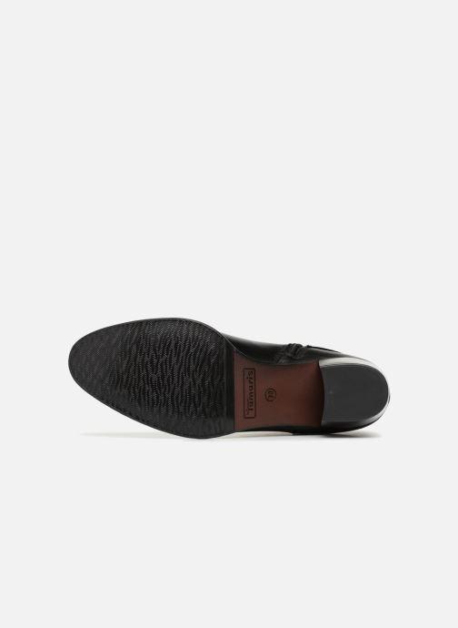 Stiefeletten & Boots Tamaris KOULY schwarz ansicht von oben