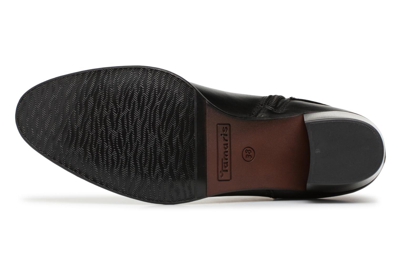 Bottines et boots Tamaris KOULY Noir vue haut