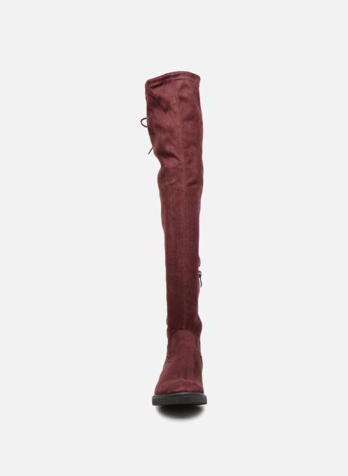 Bottes Tamaris MISSY Bordeaux vue portées chaussures
