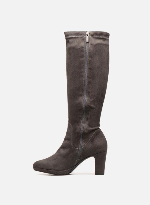 Boots & wellies Tamaris MAFFI Grey front view