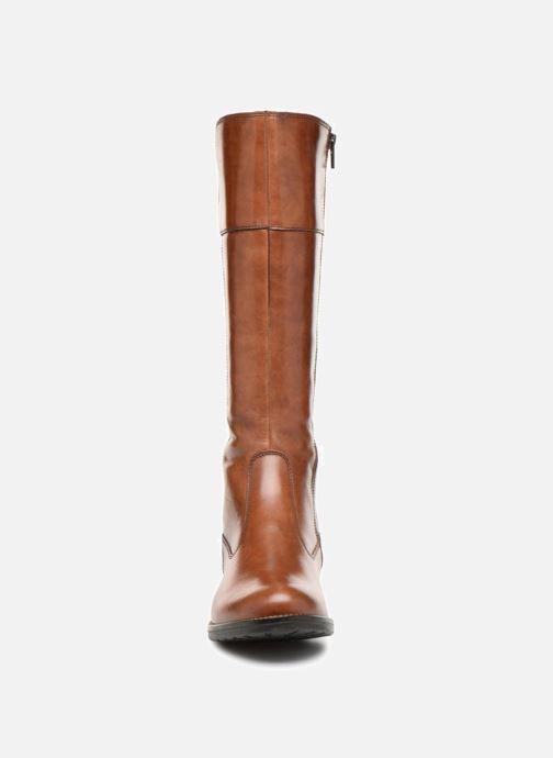 Bottes Tamaris MELT Marron vue portées chaussures