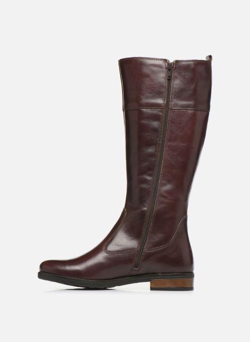 Boots & wellies Tamaris MELT Brown front view