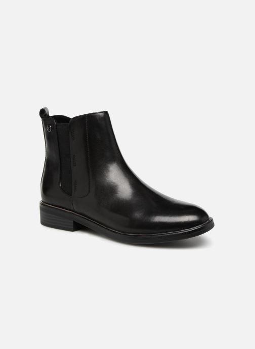 Ankelstøvler Tamaris AYOU Sort detaljeret billede af skoene