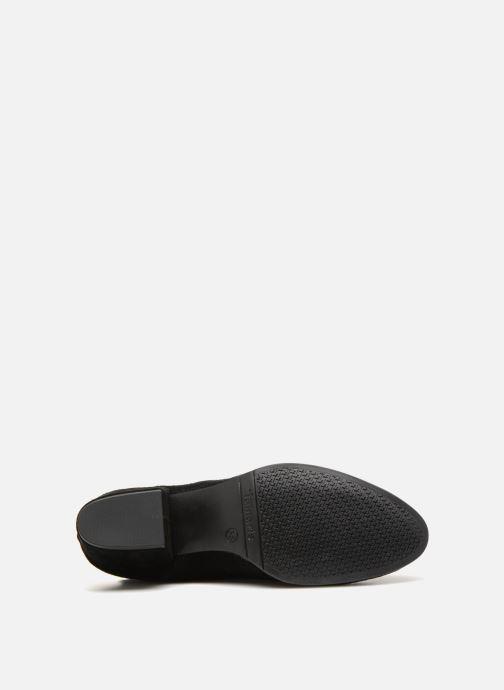 Stiefel Tamaris AUREL schwarz ansicht von oben