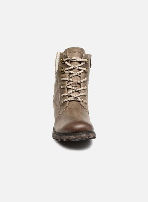 Bottines et boots Tamaris OZZY Gris vue portées chaussures