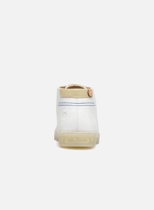 Sneakers Faguo ASPEN04 Wit rechts