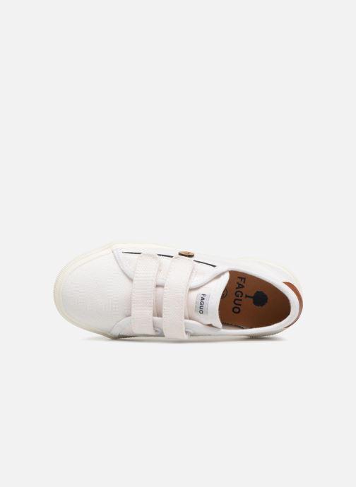 Baskets Faguo BIRCHV01 Blanc vue gauche