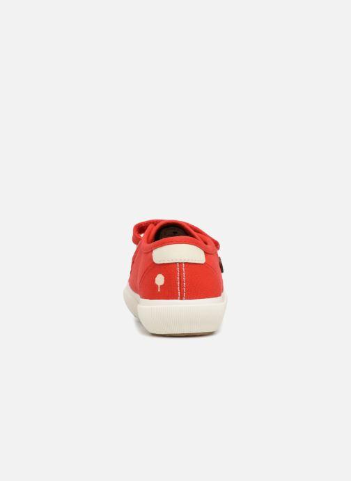 Baskets Faguo BIRCHV01 Rouge vue droite