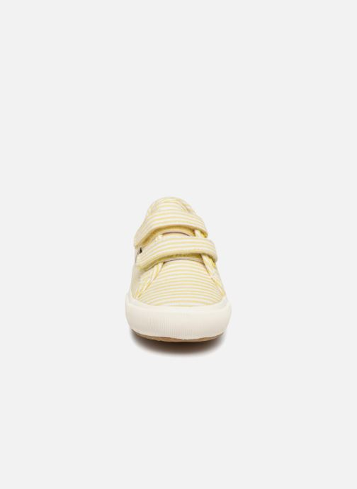 Baskets Faguo BIRCHV01 Jaune vue portées chaussures