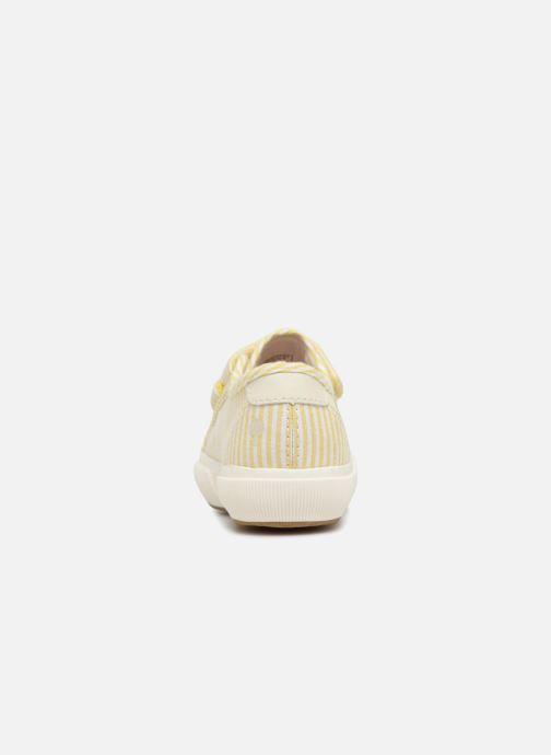 Baskets Faguo BIRCHV01 Jaune vue droite