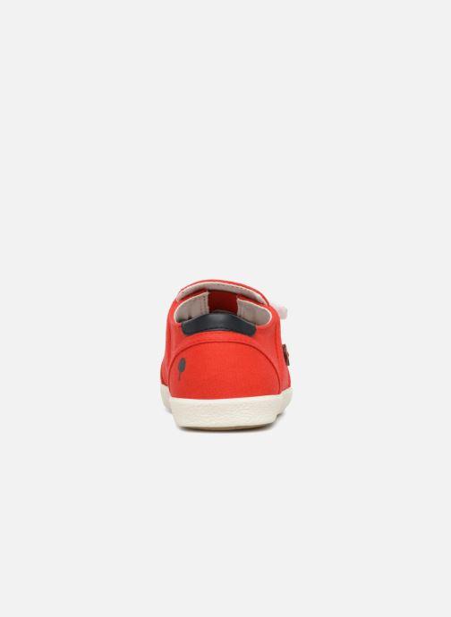 Baskets Faguo CYPRESSV01 Rouge vue droite