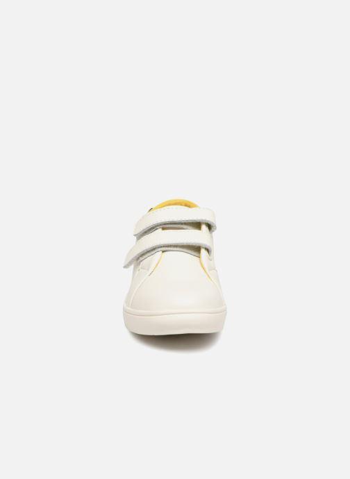 Baskets Faguo ASPENLOWV03A Blanc vue portées chaussures