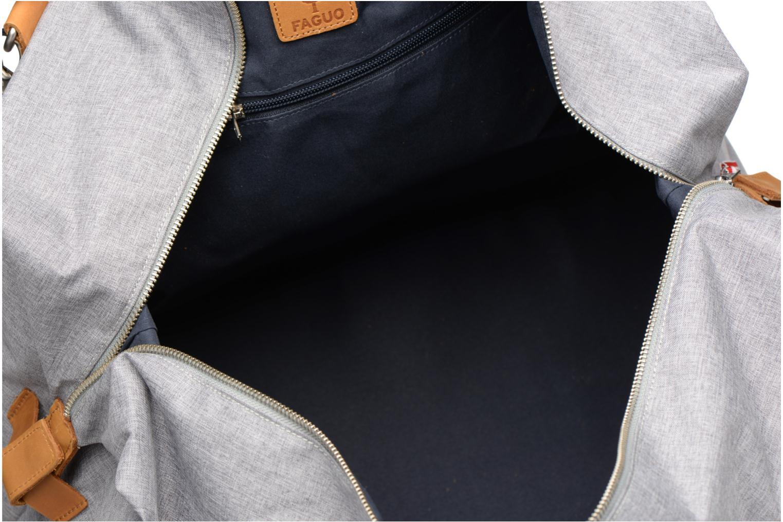 Reisegepäck Faguo WEEKENDER09 grau ansicht von hinten
