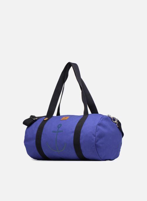 Bagages Faguo DUFFLEP01 Bleu vue portées chaussures