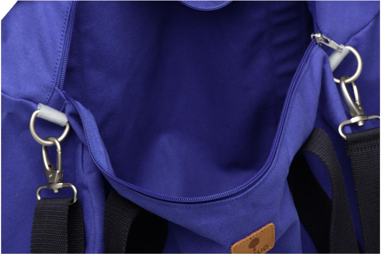 Bagages Faguo DUFFLEP01 Bleu vue derrière