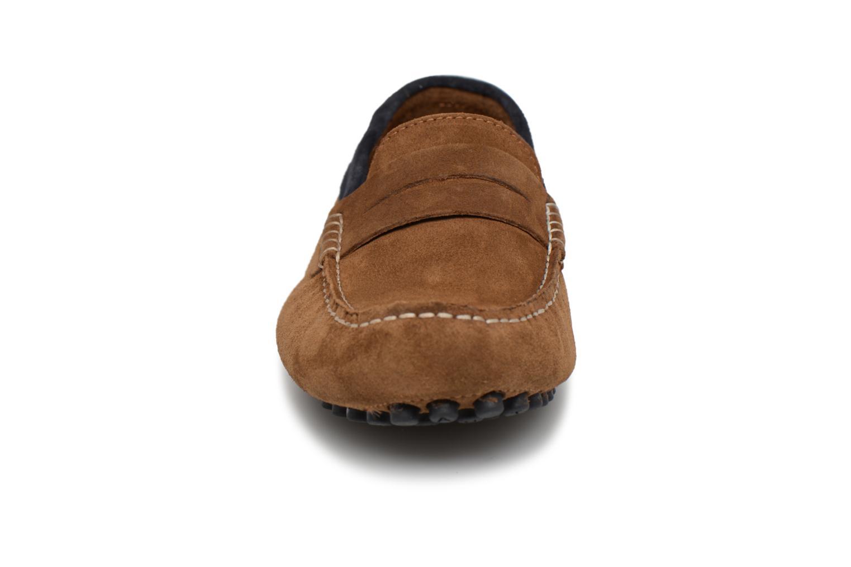 Mocassins Faguo PALM02 Marron vue portées chaussures