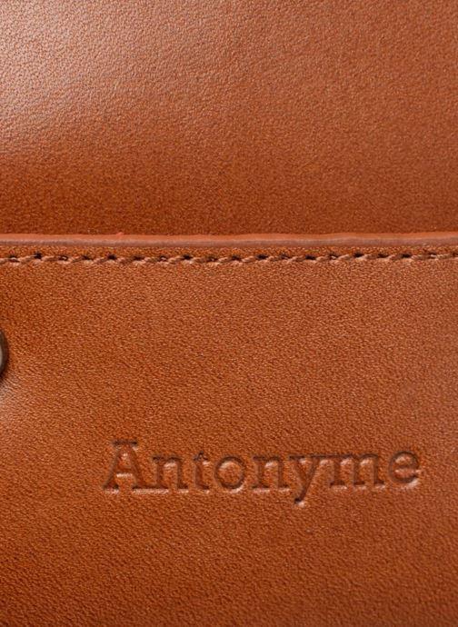 Borse uomo Antonyme by Nat & Nin Messenger Joris Marrone immagine sinistra