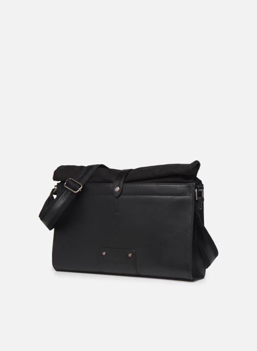 Men's bags Antonyme by Nat & Nin Messenger Joris Black model view