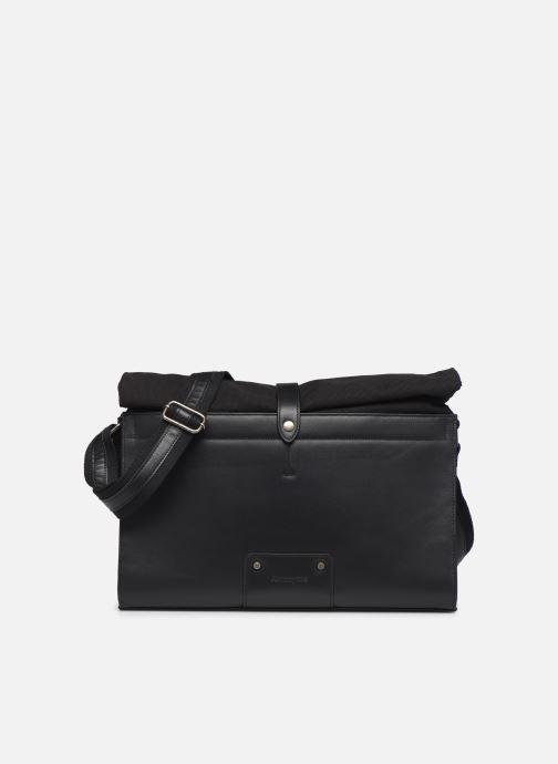 Men's bags Antonyme by Nat & Nin Messenger Joris Black detailed view/ Pair view