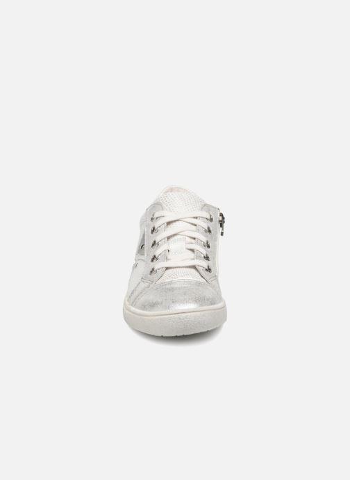 Baskets Noël JESSI Argent vue portées chaussures
