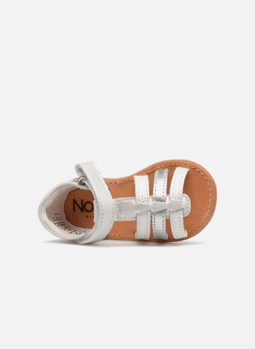 Sandales et nu-pieds Noël MINI SERVI 1 Argent vue gauche