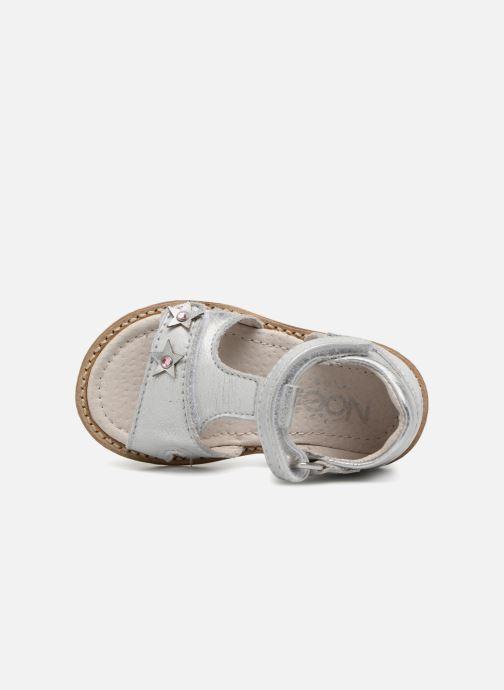 Sandales et nu-pieds Noël MINI STEBI 1 Argent vue gauche