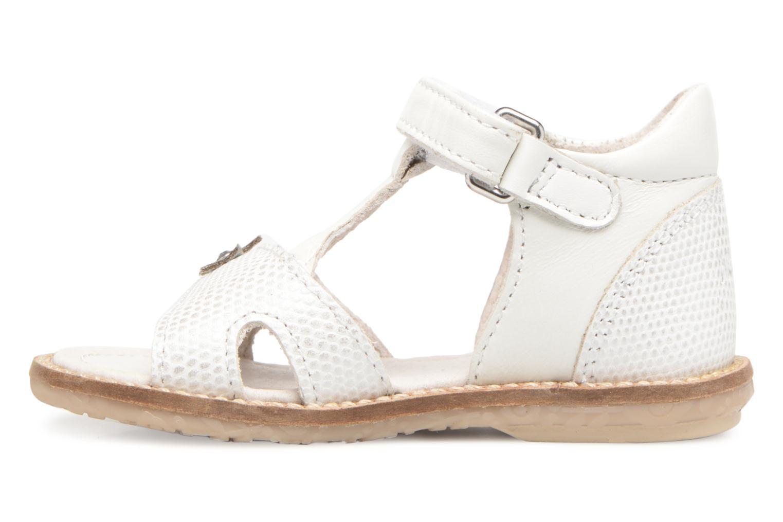 Sandales et nu-pieds Noël MINI STEBI 1 Blanc vue face