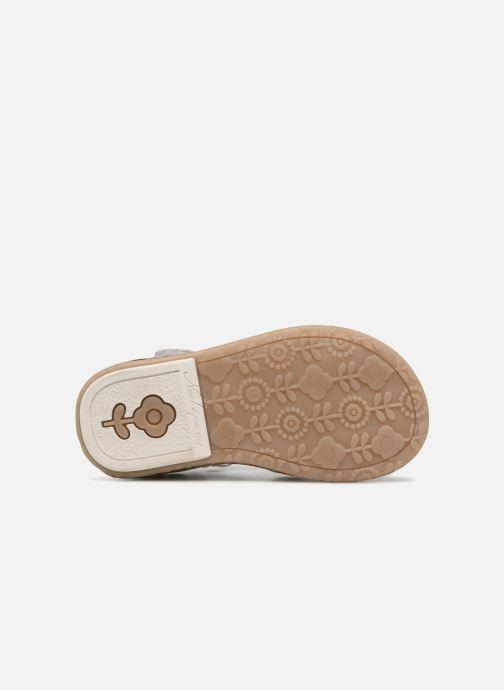 Sandales et nu-pieds Noël MINI STEBI 2 Argent vue haut