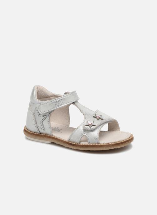 Sandales et nu-pieds Noël MINI STEBI 2 Argent vue détail/paire