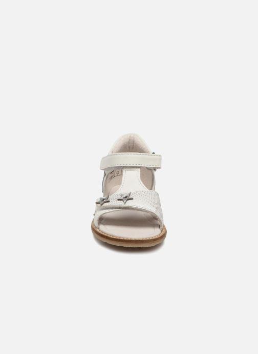 Sandales et nu-pieds Noël MINI STEBI 2 Blanc vue portées chaussures