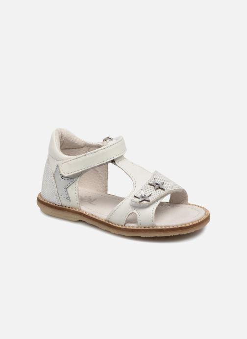 Sandales et nu-pieds Noël MINI STEBI 2 Blanc vue détail/paire