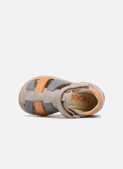 Sandales et nu-pieds Noël MINI TIN 1 Blanc vue gauche