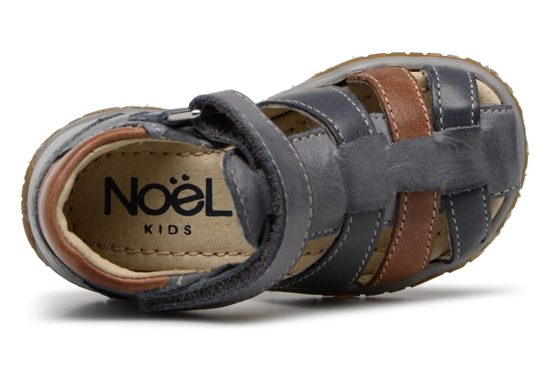 Sandales et nu-pieds Noël MINI TIN 1 Gris vue gauche