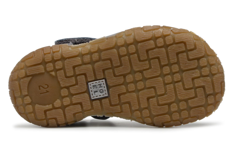 Sandales et nu-pieds Noël MINI TIN 1 Gris vue haut