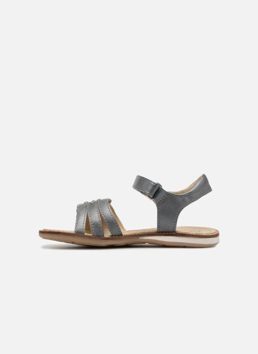 Sandals Noël SIRI Grey front view
