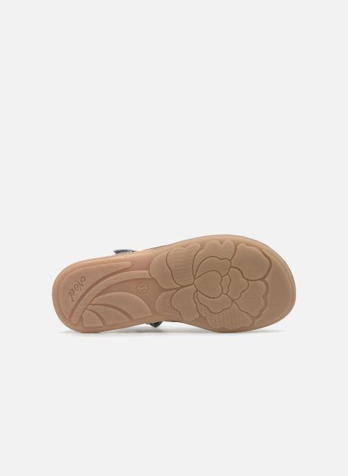Sandales et nu-pieds Noël SIRI Gris vue haut