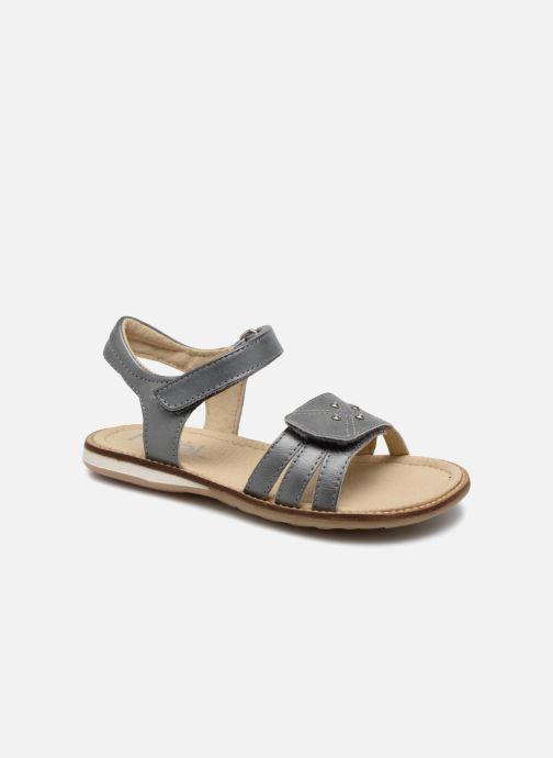Sandales et nu-pieds Noël SIRI Gris vue détail/paire