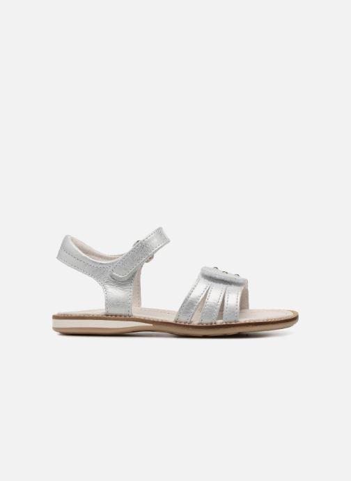 Sandales et nu-pieds Noël SIRI Argent vue derrière