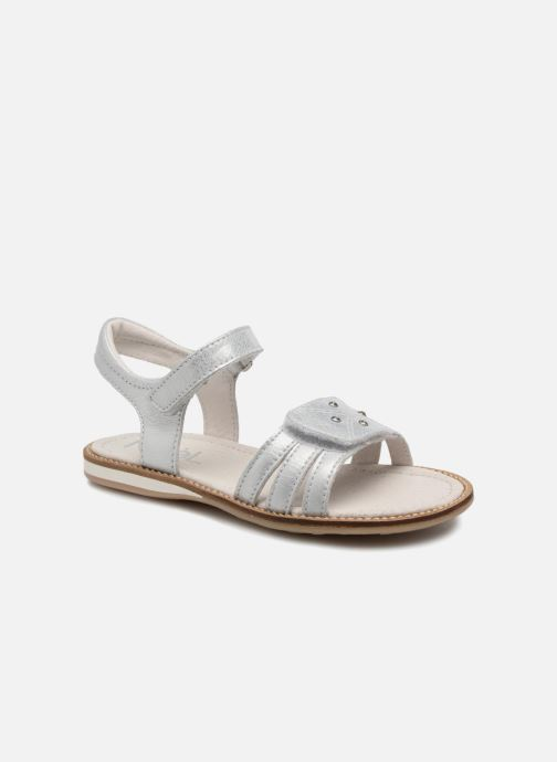 Sandals Noël SIRI Silver detailed view/ Pair view