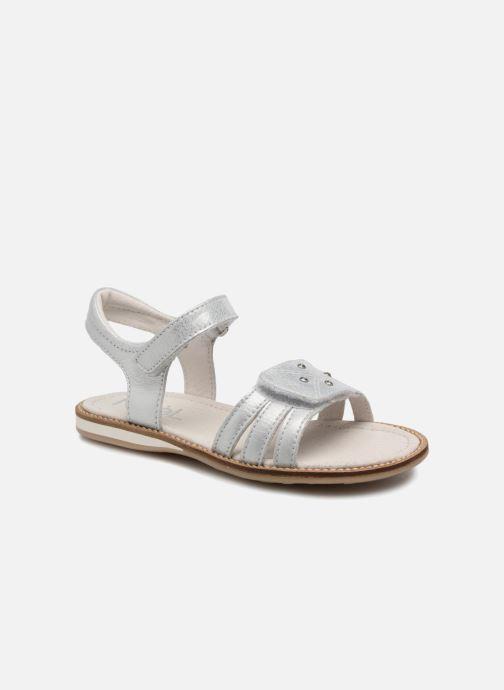 Sandales et nu-pieds Noël SIRI Argent vue détail/paire