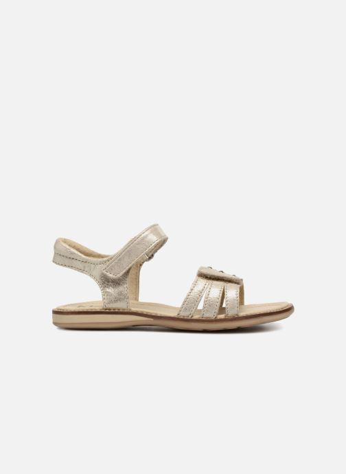Sandals Noël SIRI Bronze and Gold back view