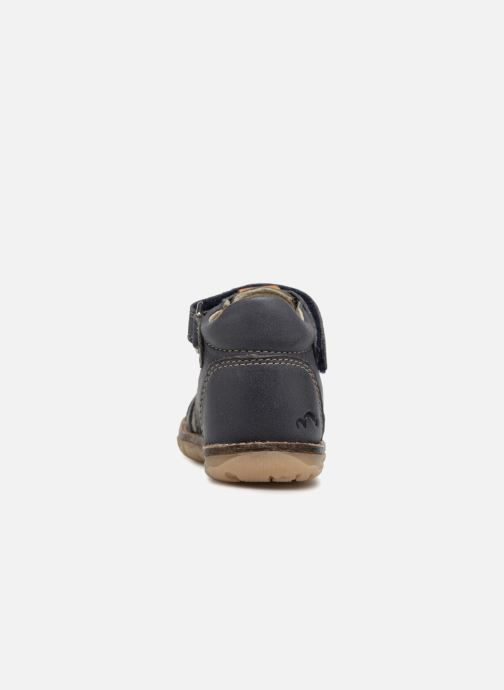Sandales et nu-pieds Noël MIHIT Gris vue droite
