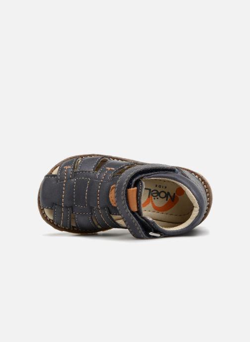 Sandales et nu-pieds Noël MIHIT Gris vue gauche