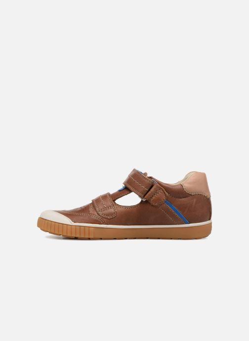 Sneaker Noël OSCAR 2 braun ansicht von vorne