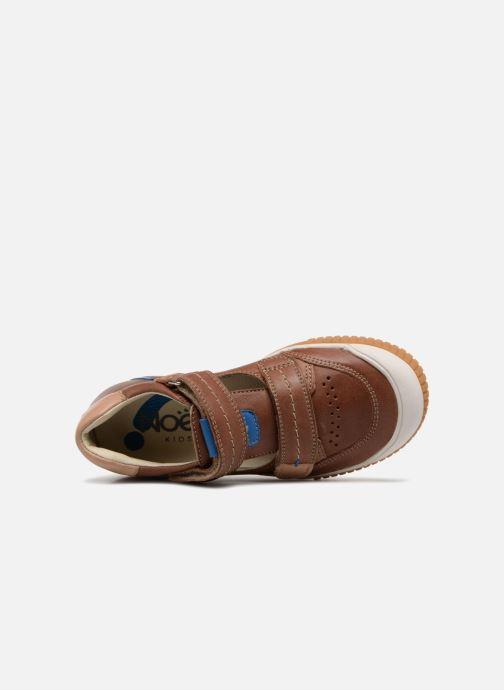 Sneaker Noël OSCAR 2 braun ansicht von links